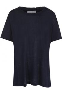 Льняная футболка свободного кроя Iro