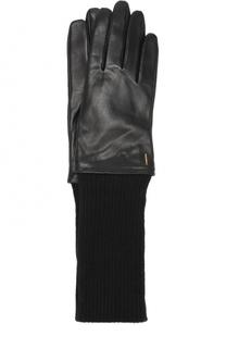 Кожаные перчатки BOSS