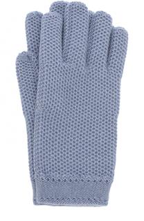 Кашемировый перчатки фактурной вязки Loro Piana