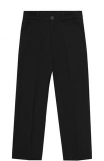 Шерстяные брюки прямого кроя Aletta