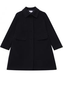 Однобортное пальто прямого кроя Aletta