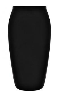 Однотонная вязаная юбка-карандаш D.Exterior
