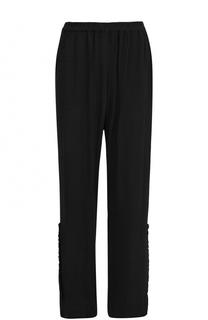 Расклешенные брюки с эластичным поясом Raquel Allegra