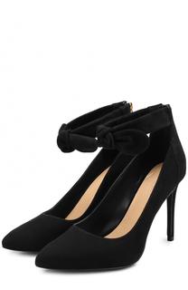 Замшевые туфли Alina с декорированным ремешком MICHAEL Michael Kors