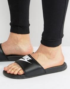 Черные шлепанцы Nike Benassi JDI 343880-090 - Черный