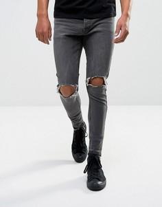 Рваные джинсы Brave Soul - Синий