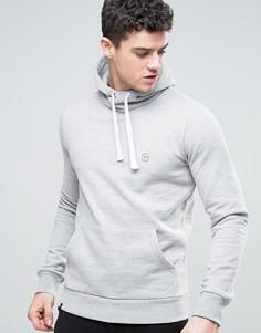 Серый меланжевый худи Le Breve - Серый