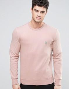 Свитшот с круглым вырезом Le Breve - Розовый