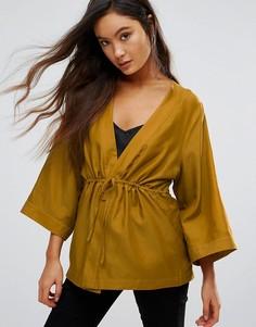 Блузка с широкими рукавами Gestuz Janet - Зеленый