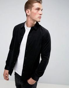 Вельветовая рубашка Another Influence - Черный