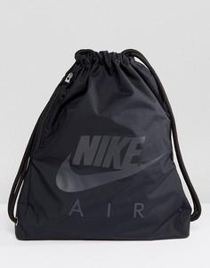 Черная спортивная сумка-мешок с логотипом Nike BA5430-013 - Черный
