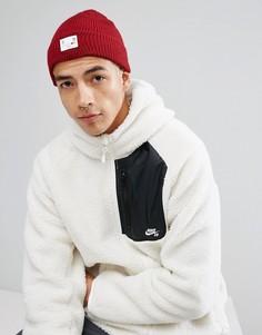 Красная шапка-бини Nike SB Surplus 850825-619 - Красный