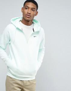 Худи зеленого цвета с молнией до груди Nike SB Mint Pack 929147-372 - Зеленый