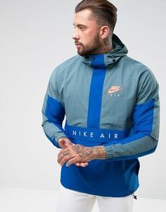 Синяя куртка Nike Air 861634-374 - Синий