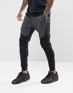 Черные флисовые джоггеры Nike Tech 805162-011 - Черный