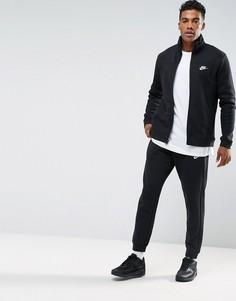 Черный флисовый спортивный костюм Nike 861776-010 - Черный