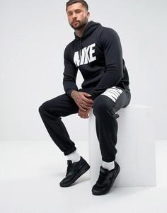 Флисовый спортивный костюм черного цвета Nike JDI 861768-010 - Черный