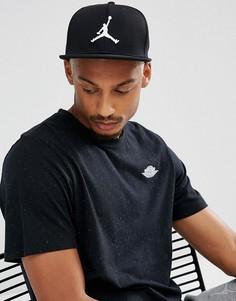 Черная бейсболка Nike Jordan Jumpman 861452-013 - Черный