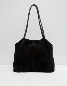 Замшевая сумка ASOS - Черный