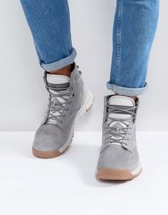 Серые кожаные кроссовки Nike SFB 6 NSW 862507-003 - Серый