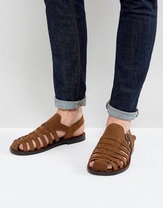 Плетеные сандалии ALDO Malvyn - Рыжий