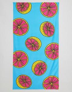 Полотенце с принтом грейпфрута ASOS - Мульти