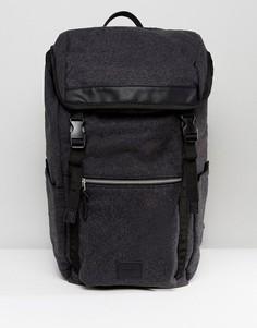 Походный рюкзак из мельтона ASOS - Серый