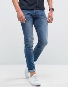 Выбеленные джинсы скинни Loyalty and Faith Manor - Синий