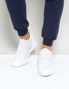Белые неопреновые кроссовки с резиновыми ремешками ASOS - Белый