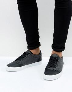 Черные кроссовки ASOS - Белый