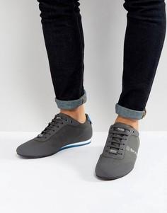 Серые джинсовые кроссовки с покрытием BOSS Green by Hugo Boss - Серый