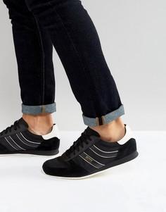 Черные кроссовки из нейлона и замши BOSS Orange by Hugo Boss - Черный