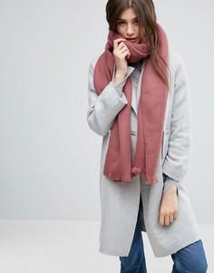 Длинный мягкий шарф ASOS - Розовый