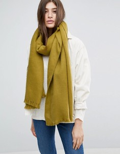 Длинный мягкий шарф ASOS - Зеленый
