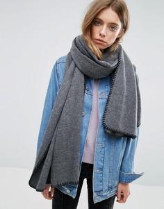 Длинный шарф ASOS - Серый