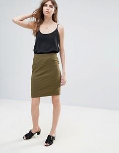 Фактурная юбка Ichi - Зеленый