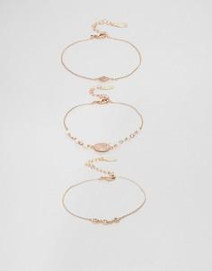 Изящные наборные браслеты ALDO Arkizi - Золотой