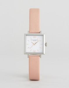 Часы с кожаным ремешком Olivia Burton - Розовый