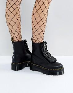 Ботинки на платформе Dr Martens x Lazy Oaf - Черный