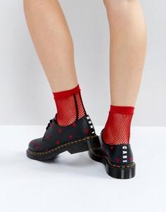 Туфли на плоской подошве Dr Martens x Lazy Oaf - Черный