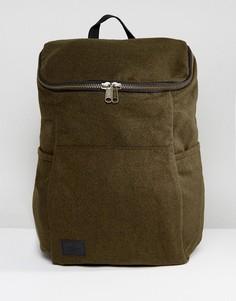 Рюкзак цвета хаки из мельтона ASOS - Зеленый