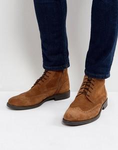 Замшевые ботинки-броги на шнуровке Vagabond Salvatore - Рыжий