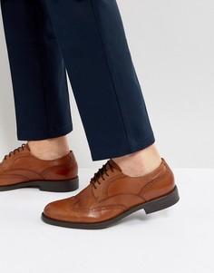 Кожаные туфли дерби Vagabond Salvatore - Рыжий