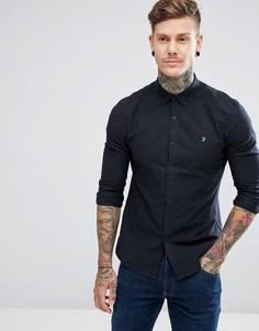 Темно-синяя облегающая рубашка Farah - Темно-синий