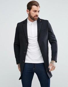 Серое пальто Farah Portobello - Серый