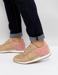 Песочные кроссовки из искусственной замши ASOS - Светло-серый