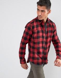 Рубашка в клетку D-Struct - Красный