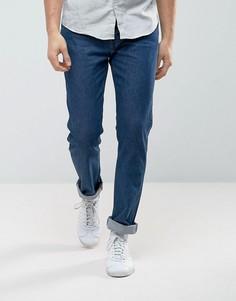 Темно-выбеленные зауженные джинсы Levis Line 8 - Синий