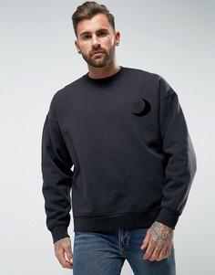 Оверсайз-свитер Levis Line 8 - Черный