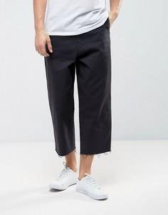 Широкие укороченные брюки Levis Line 8 - Черный